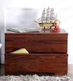 Oakville Bed Side Table in Provincial Teak Finish