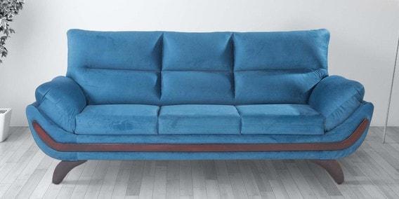 Oakland 3 Seater Sofa In Blue Colour