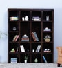 Oakland Book Shelf in Warm Chestnut Finish by Woodsworth