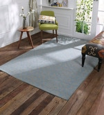 Blue Wool 60 x 96 Inch Gallore Carpet