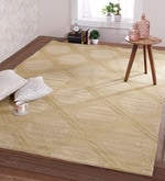Horseradish Wool 108 x 72 Inch Large Graphic Lace Carpet