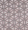 Frost Grey Wool 108 x 72 Inch Circle Lattice Carpet by Obeetee