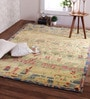 Gabbeh Wool 96 x 60 Inch Tapi Carpet by Obeetee