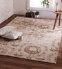 Obeetee Gold Wool 84 x 60 Inch Ersari Carpet