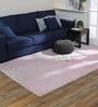 Obeetee Ivory & Pink Wool 60 x 96 Inch Ahan Carpet