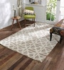 Ivory Wool 60 x 96 Inch Nayla Carpet by Obeetee