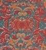 Multicolour Cotton & Jute 96 x 60 Inch Cross Carpet by Obeetee