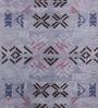 Obeetee Multicolour Wool 96 x 60 Inch Alyson Fox Stencil Carpet