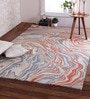 Multicolour Wool 96 x 60 Inch Marvel Carpet by Obeetee