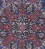 Obeetee Purple Jute 84 x 60 Inch Neva Printed Carpet