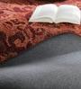 Obeetee Rust Wool 60 x 96 Inch Eminent Carpet