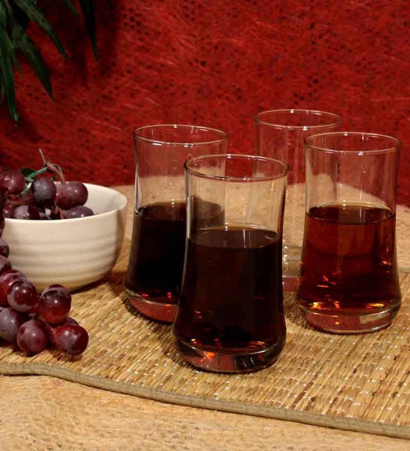 Ocean Aloha Water Glass 280 ml - Set Of 6