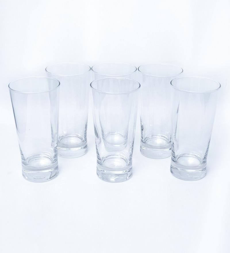 Ocean Ethan Glass 445 ML Long Drink Glasses - Set of 6