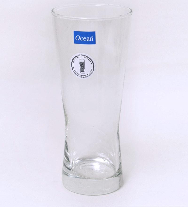 Ocean Metropolitan 400 ML Pilsner Glasses - Set of 6