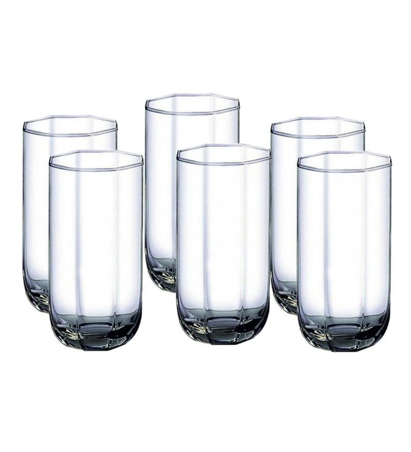 Ocean Tulip 230 ML Cocktail Glasses - Set of 6