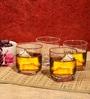 Ocean Plaza 295 ML Whisky Glasses - Set of 6