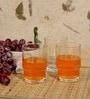 Ocean Sweet Bell 235 ml Water Glass - Set Of 6