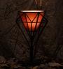 Black Metal Table Lamp by OddCroft