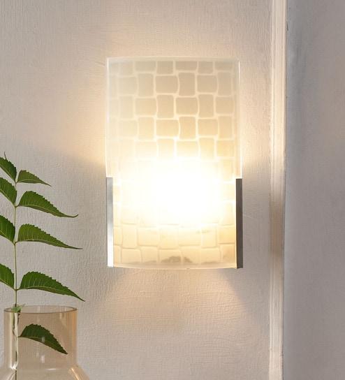 Off White Glass Wall Mounted by New Era