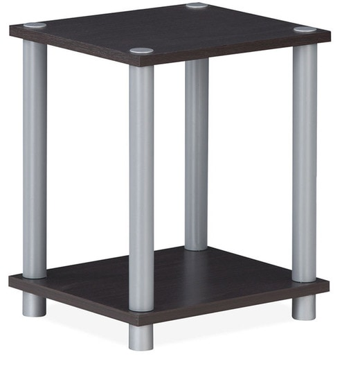 Tremendous Ohio Wooden End Table In Wenge Finish By Nilkamal Machost Co Dining Chair Design Ideas Machostcouk