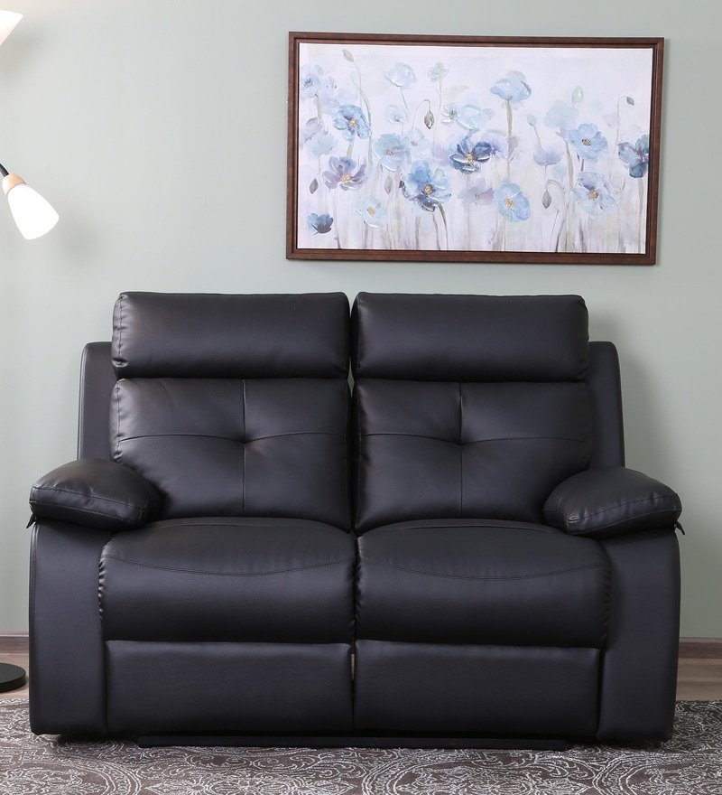 Flavian 2 Seater Recliner In Brown Colour By Star India