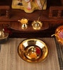 Gold Plated Stainless Steel Taman Set by Ojas