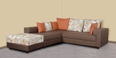 Olive RHS Sofa in Brown Colour