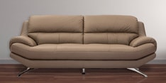 Oliver Three Seater Sofa in Grey Colour