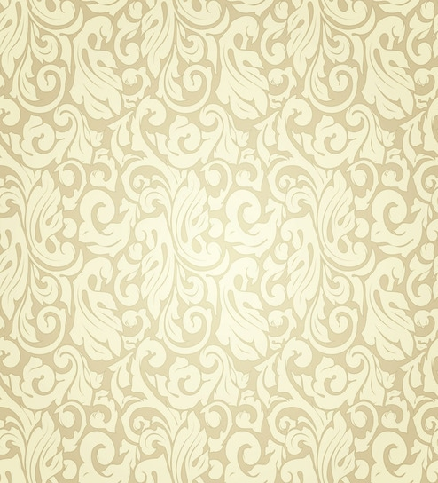 Print A Wall Paper Old Elegant Pattern PVC Free Wallpaper