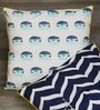 Olie Impermanence Multicolour Cotton Hand Made Cushion Cover