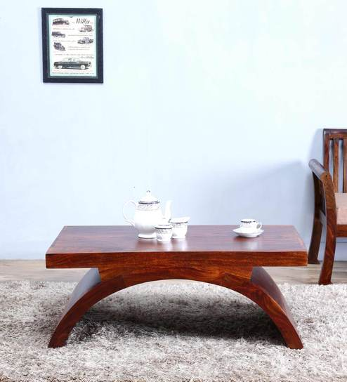 Upto 50% Off On Coffee Tables By Pepperfry | Omaha Coffee Table in Honey Oak Finish by Woodsworth @ Rs.11,299
