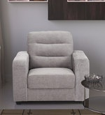 One Seater Sofa in Grey Colour