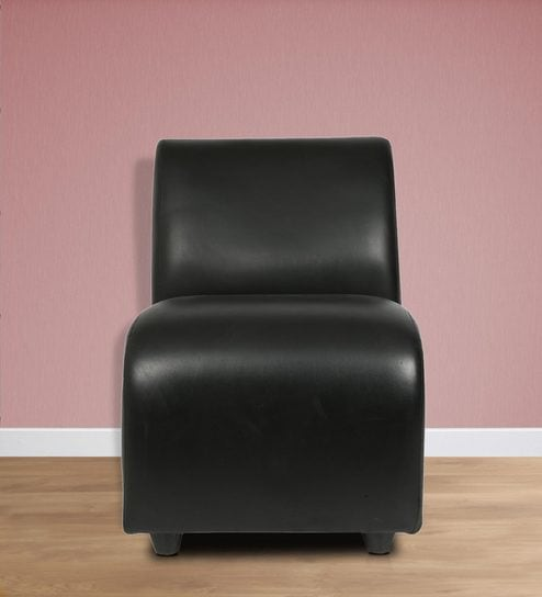 Designer Accent Chair For Home U0026 Office In Black Colour By Star India