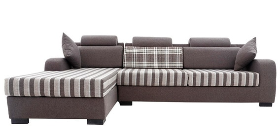 Ontario RHS Three Seater Sofa Set And Divan By Elegance By Looking Good  Furniture