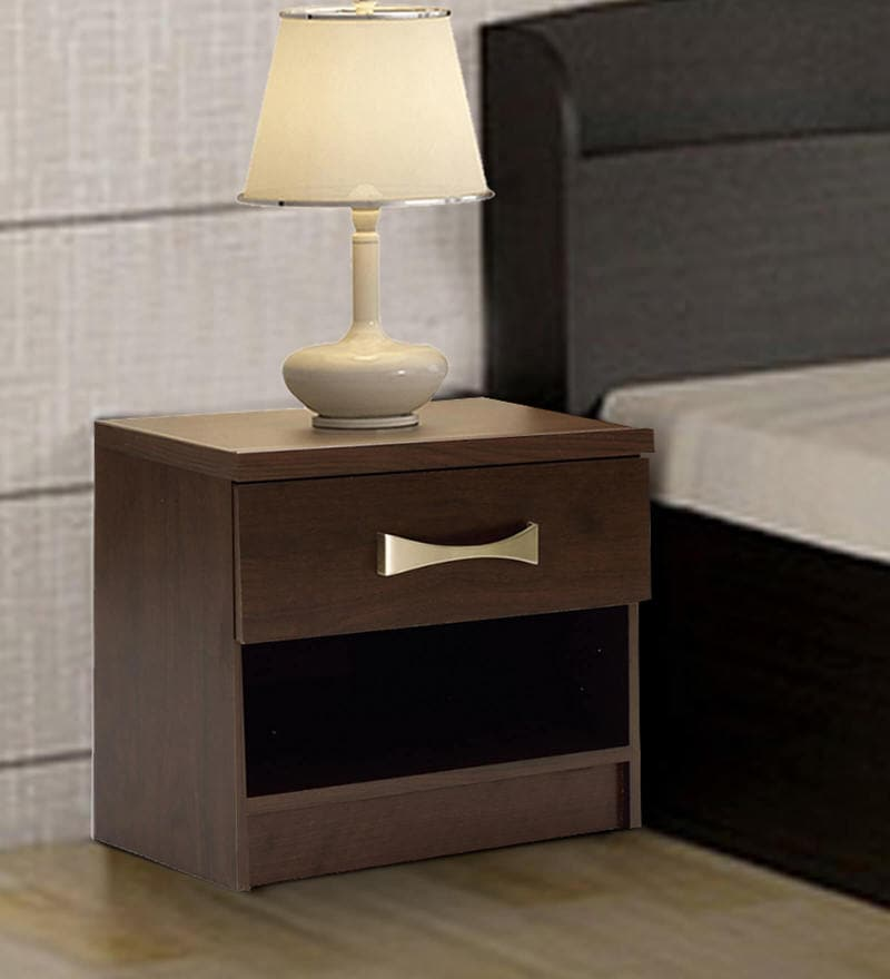 One Nightstand in Wenge Finish by Mintwud