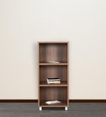 Open Book Shelf in Walnut Colour