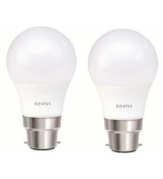 Opulus Cool Day Light 7W LED Bulbs - Set Of 2