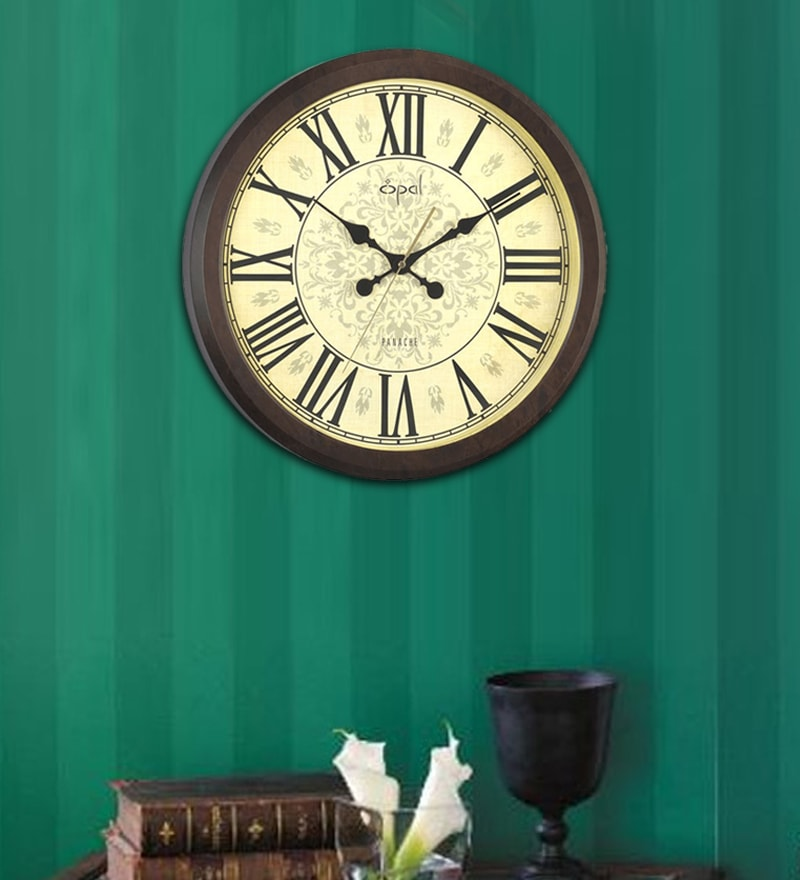 Abs Designer Round Wall Clock by Opal