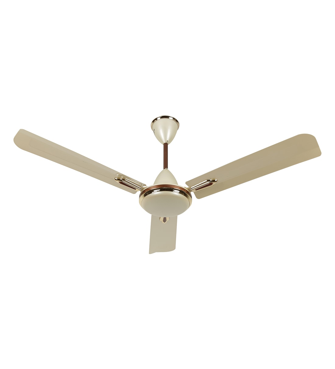 Buy Orient Quasar Ornamental 1200 Mm Metallic Ivory And Cherry Designer Ceiling Fan Online Ceiling Fans Fans Homeware Pepperfry Product