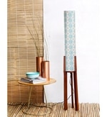 Multicolour Cotton Rudra Floor Lamp