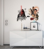 Licensed Star Wars Characters Digital Printed Wall Decal