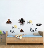 Licensed Team Star Wars Digital Printed Wall Decal