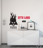 Licensed Vader Logo Digital Printed Wall Decal