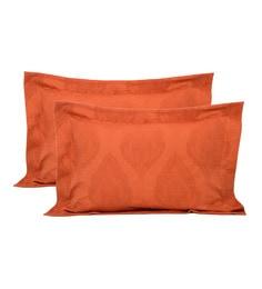 Orange 100% Cotton 20 X 30 Inch Pillow Cover