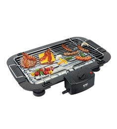 2000w Quality Chrome And Stainless Steel Electric Barbeque Grill Tandoori Maker