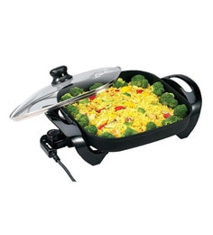 Orbit Zorro Black 10 X 10 X 6 Inch 1500W Pizza Pan