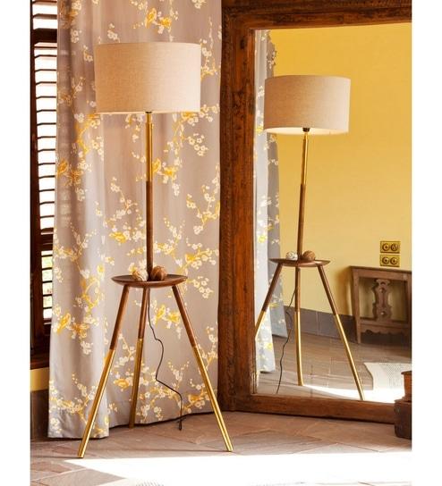 Buy brown linen mica floor lamp by orange tree online contemporary brown linen mica floor lamp by orange tree aloadofball Gallery