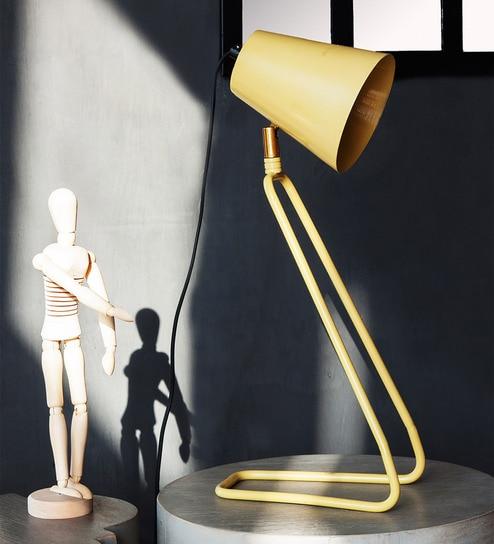 Buy orange tree yellow brass iron perth study table lamp online yellow brass iron perth study table lamp by orange tree greentooth Choice Image