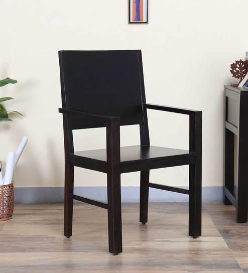 Oriel Arm Chair in Warm Chestnut Finish by Woodsworth
