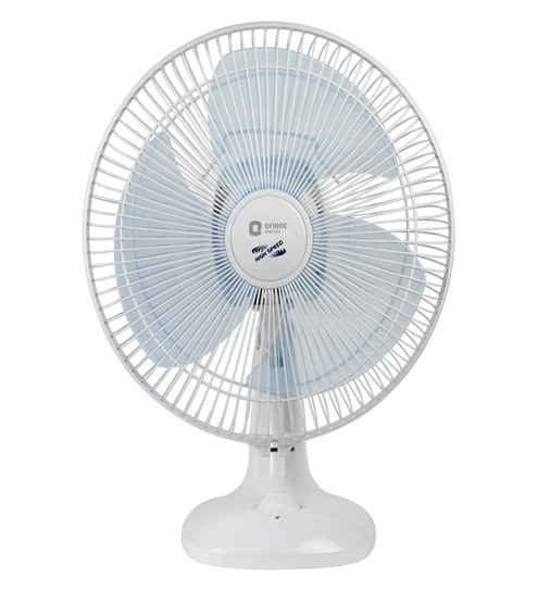 Buy orient 300 mm white blue table fan online table fans table orient 300 mm white blue table fan greentooth Choice Image